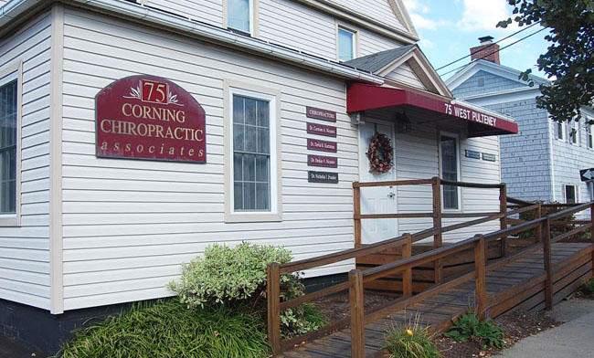 Corning Chiropractic office