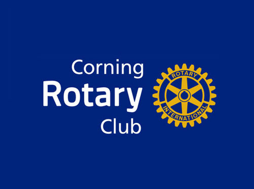 Involvement with Corning Rotary Club