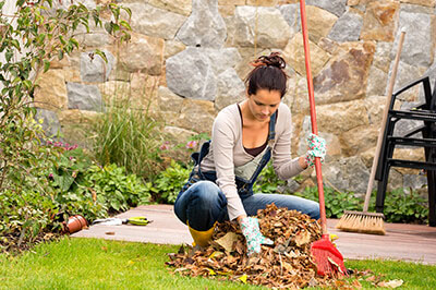 Chiropractic and yardwork safety